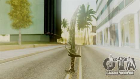 Orcish Dagger para GTA San Andreas segunda tela