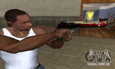 Totenkopf Deagle para GTA San Andreas terceira tela