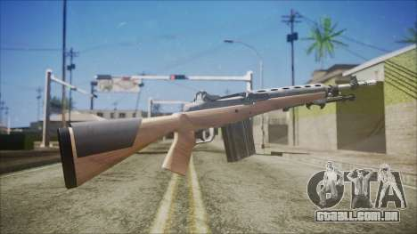 M14 from Black Ops para GTA San Andreas segunda tela