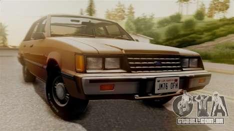 Ford LTD LX 1986 para GTA San Andreas