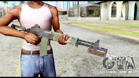 AK-47 from Resident Evil 6 para GTA San Andreas terceira tela
