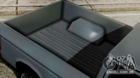 Bobcat New Edition para GTA San Andreas traseira esquerda vista