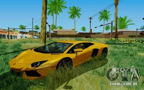 Novel ENB para GTA San Andreas por diante tela