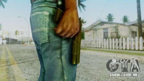 M1911 Pistol para GTA San Andreas terceira tela