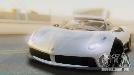 GTA 5 Pegassi Osiris IVF para GTA San Andreas traseira esquerda vista