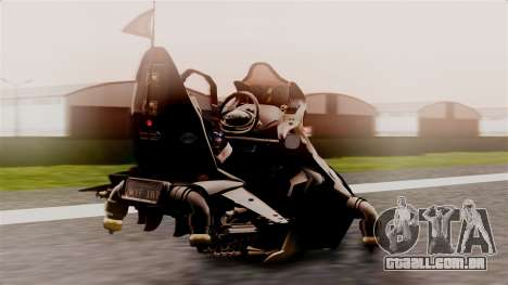 NRG Moto Jet Buzz Dirt Model para GTA San Andreas esquerda vista