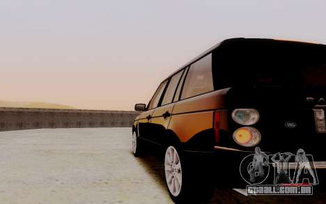 ENB Series Ultra Graphics for Low PC v3 para GTA San Andreas terceira tela