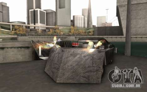 Dodge Charger Infernal Bulldozer para GTA San Andreas vista direita