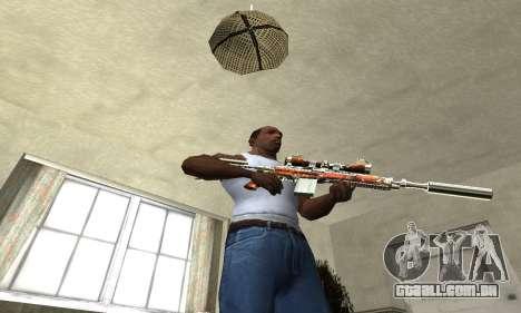 Sniper Fish Power para GTA San Andreas terceira tela