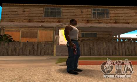 Lamen Deagle para GTA San Andreas segunda tela