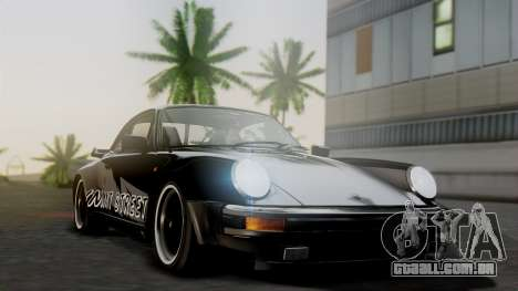 Porsche 911 Turbo (930) 1985 Kit A para GTA San Andreas vista interior