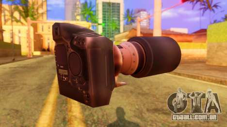 Atmosphere Camera para GTA San Andreas segunda tela