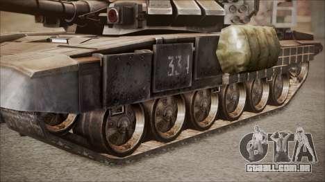T-90A BF4 para GTA San Andreas vista direita