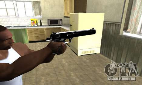 Black Cool Deagle para GTA San Andreas
