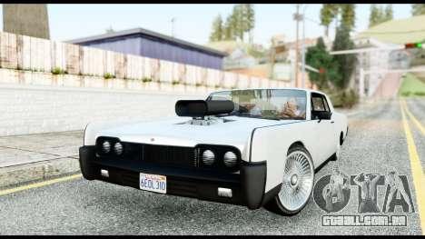 GTA 5 Vapid Chino Tuning v2 para GTA San Andreas