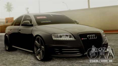 Audi RS6 Civil Drag Version para GTA San Andreas