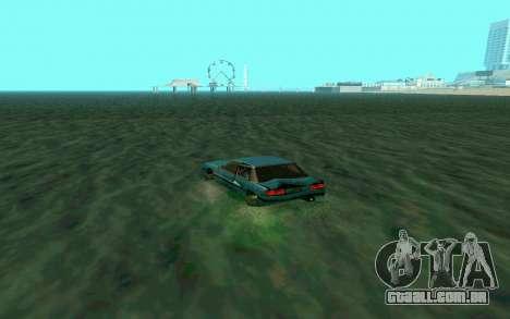 Cars Water para GTA San Andreas por diante tela