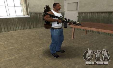 Kaymay M4 para GTA San Andreas terceira tela