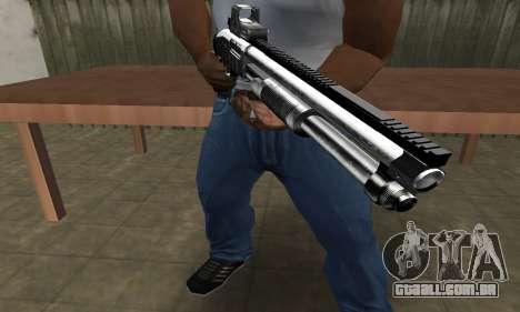 Member Shotgun para GTA San Andreas terceira tela