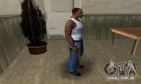 Brown Jungles Deagle para GTA San Andreas terceira tela