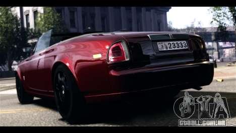Rolls-Royce Phantom 2009 Coupe v1.0 para GTA 4 traseira esquerda vista
