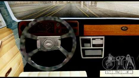 Ford Taunus 2.3 para GTA San Andreas traseira esquerda vista