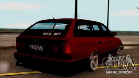 BMW M5 Touring E34 para GTA San Andreas esquerda vista