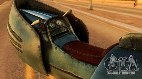 20-X Automatic para GTA San Andreas traseira esquerda vista