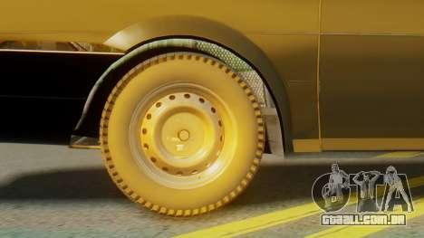 Volkswagen Santana Gz para GTA San Andreas traseira esquerda vista
