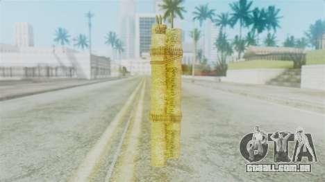 Red Dead Redemption Satchel Diego para GTA San Andreas