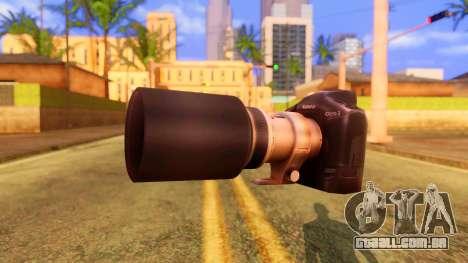 Atmosphere Camera para GTA San Andreas