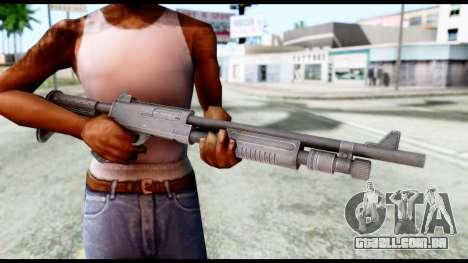 Combat Shotgun from Resident Evil 6 para GTA San Andreas terceira tela
