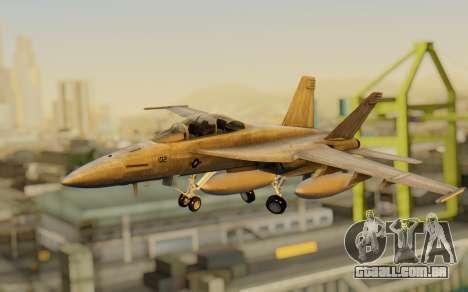 FA-18F Super Hornet BF4 para GTA San Andreas