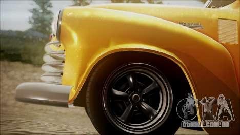 Chevrolet 3100 Truck 1951 para GTA San Andreas vista direita