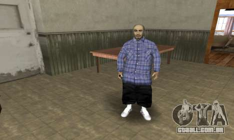 Rifa Skin Second para GTA San Andreas