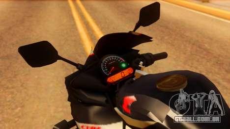 Honda CBR150R K45 para GTA San Andreas vista direita