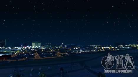 Skybox Real Stars and Clouds v2 para GTA San Andreas terceira tela