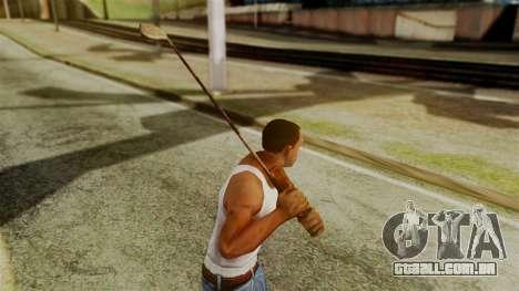 Golf Club from Silent Hill Downpour para GTA San Andreas terceira tela
