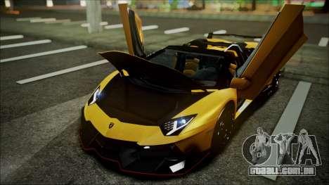 Lamborghini Veneno LP700-4 AVSM Roadster Version para GTA San Andreas vista interior