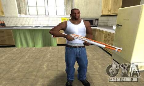 Asiimov Shotgun para GTA San Andreas terceira tela