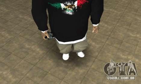 Rifa Skin First para GTA San Andreas segunda tela