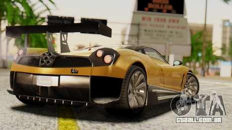 Pegassi Osyra Extra 2 para GTA San Andreas esquerda vista