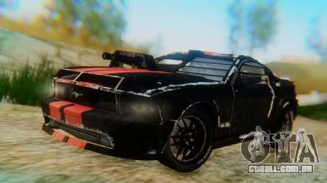 Shelby GT500 Death Race para GTA San Andreas