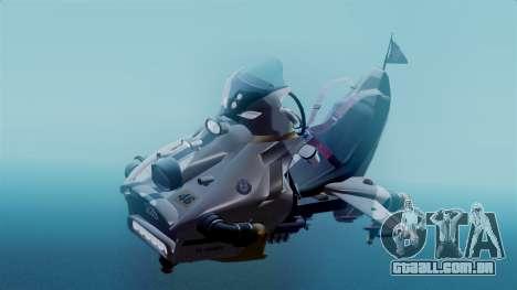 NRG Moto Jet Buzz Clean Model para GTA San Andreas vista direita