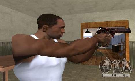 Klajk Deagle para GTA San Andreas segunda tela