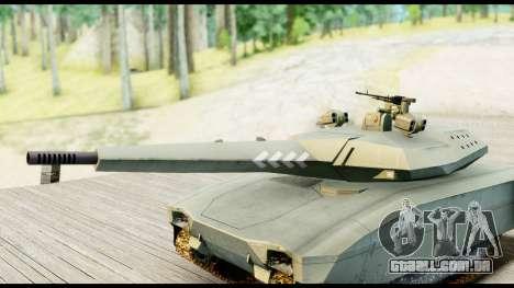 PL-01 Concept para GTA San Andreas traseira esquerda vista