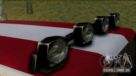 New Sandking para GTA San Andreas vista direita