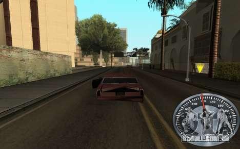 Ferro velocímetro para GTA San Andreas segunda tela