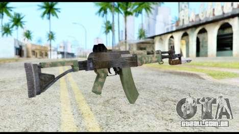 AK-47 from Resident Evil 6 para GTA San Andreas segunda tela