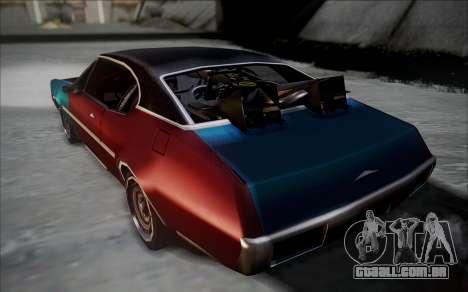 BTTF1-Clover para GTA San Andreas esquerda vista